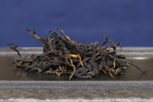light roast black tea dry leaves