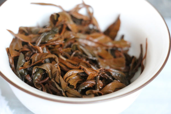 Yunnan dianhong wet leaves