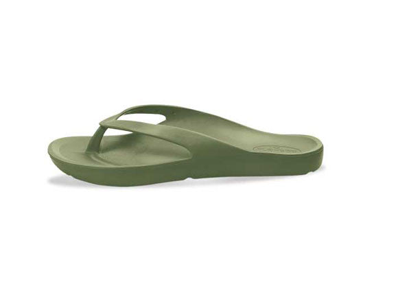 FLOPEDS Laguna Kids Military Green - flopeds