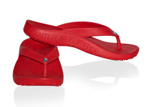 FLOPEDS TAF3 Solitaire Chilli Red - flopeds