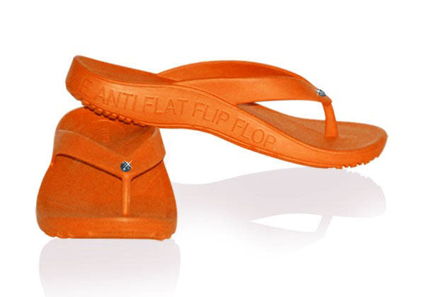 FLOPEDS TAF3 Solitaire Tangerine Orange