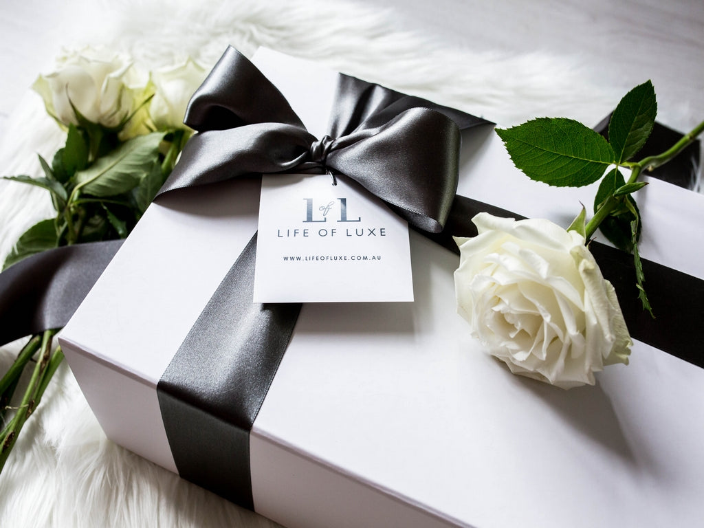 Luxurious baby hampers by life of luxe the day i arrived home from hospital was the day i received my first baby hamper a blue box which consisted of a singlet socks a hair brush a towel negle Gallery