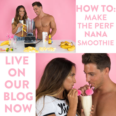 The perfect, healthy, banana smoothie recipe!