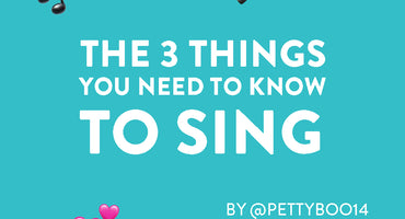 The 3 things you need to know to sing!