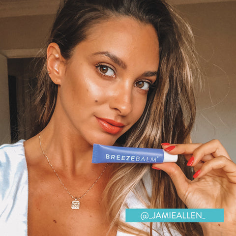 breeze balm hydrating lip balm ambassador