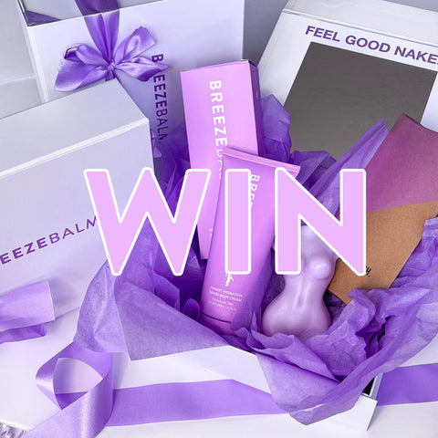 competition to win breeze balm hydrating hypoallergenic moisturiser