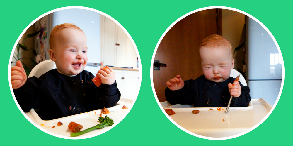 Top five tips for baby-led weaning
