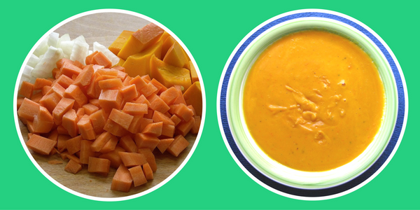 Pumpkin Soup - baby-led weaning recipe