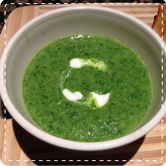 Spinach and Kale soup