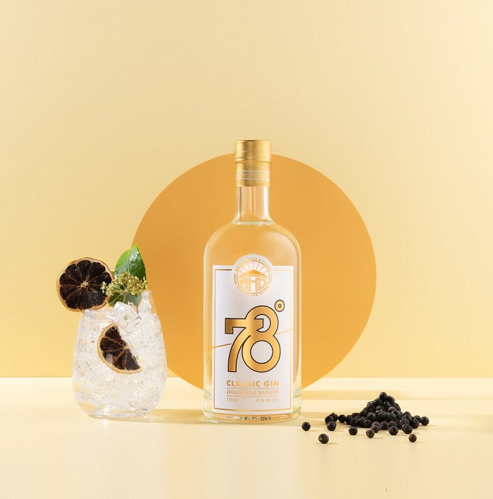 78 degrees classic gin