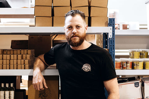 Luke Swenson CEO & Founder of The Bearded Chap