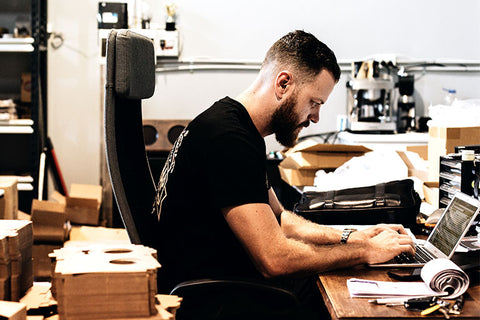 Luke Swenson CEO & Founder of The Bearded Chap working
