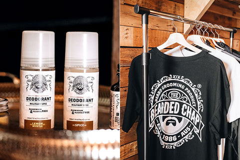 The Bearded Chap alcohol and aluminium free deodorant