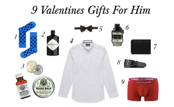 9 gifts for your man on valentines day