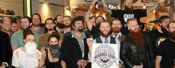 The Bearded Chap launch 2013