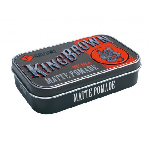King Brown Matte Clay pomade