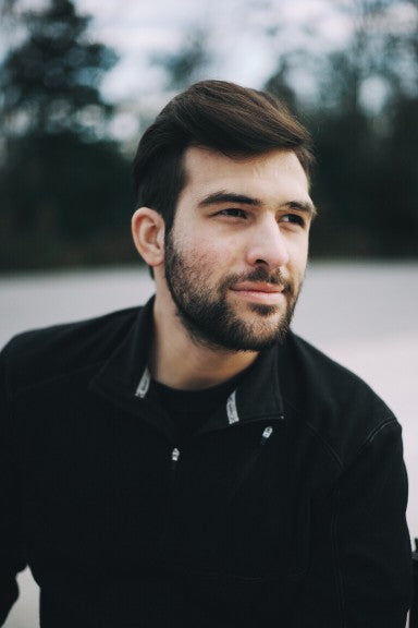man with beard and thick hair