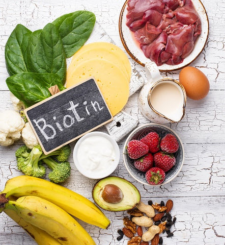 sources of biotin for beard growth