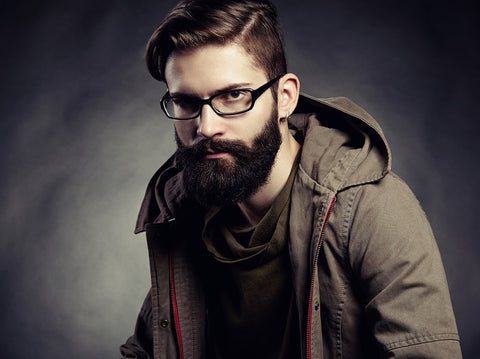 man with glasses and beard