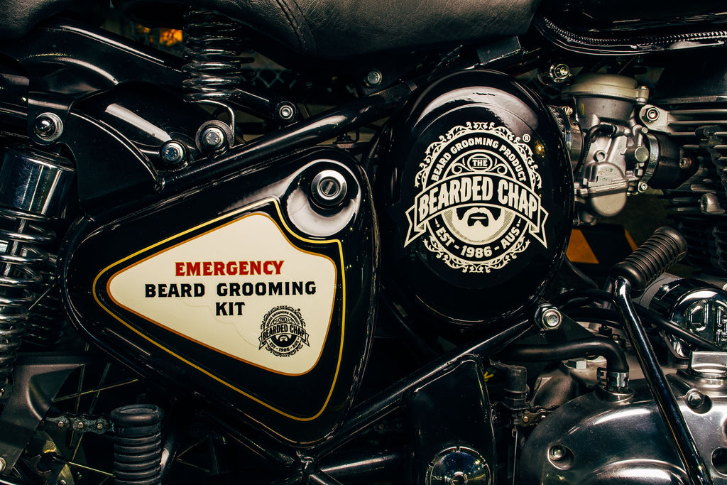 The Bearded Chap Royal Enfield Emergency Beard Grooming Kit