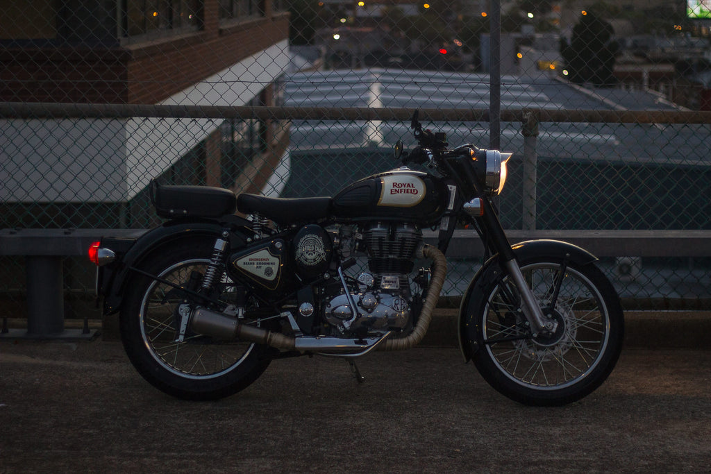 royal enfield side