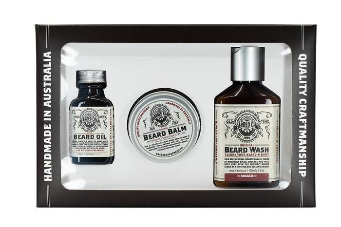 trilogy rugged beard kits