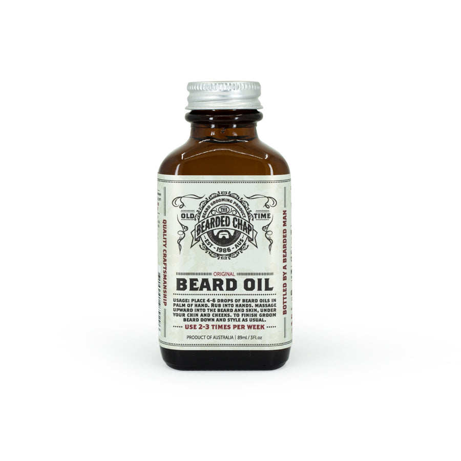Original Beard Oil - The Bearded Chap Australian made grooming products