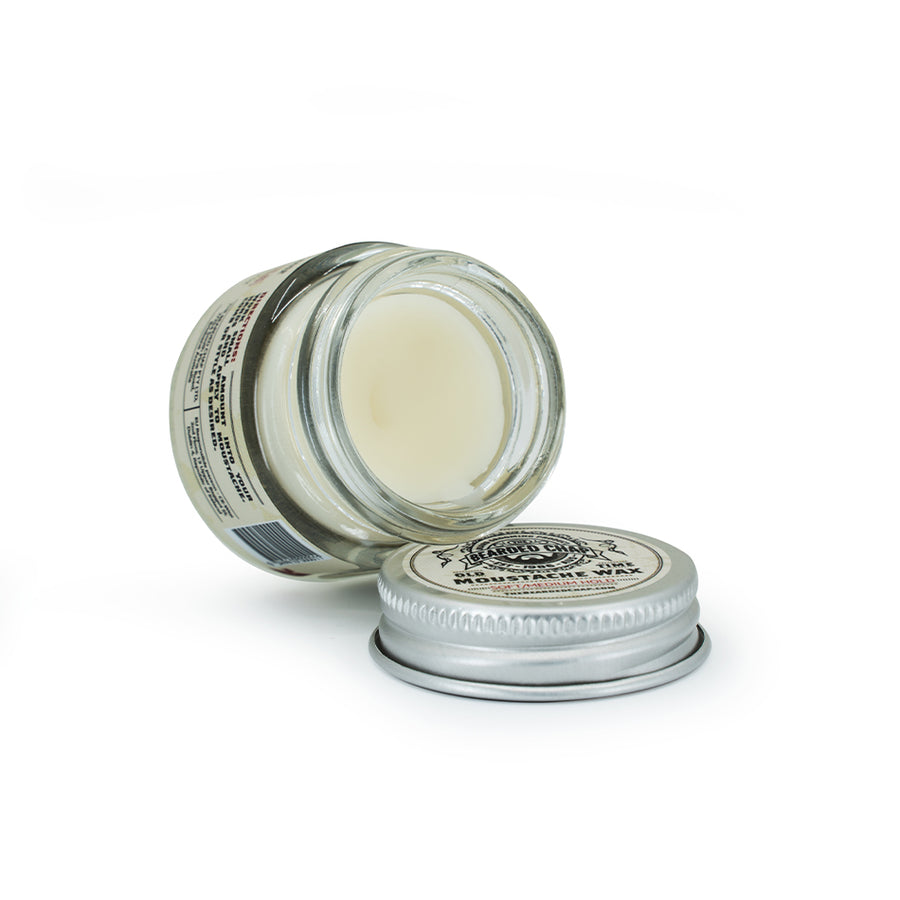 Old Time Soft/Medium Hold Moustache Wax - The Bearded Chap Australian made grooming products