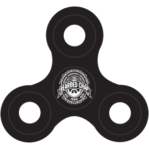 The Bearded Chap Fidget Spinner