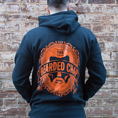 Dapper Skull Hoodie - The Bearded Chap