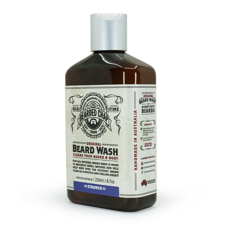 Staunch Original Beard Wash - The Bearded Chap Australian made grooming products