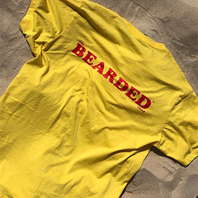 Limited Edition Retro Bearded Tee - The Bearded Chap Australian made grooming products