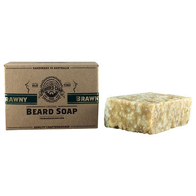 Brawny Beard Soap - The Bearded Chap Australian made grooming products