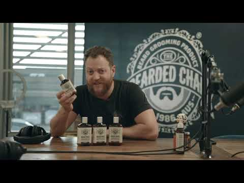the bearded chap 100% natural beard wash brawny scent