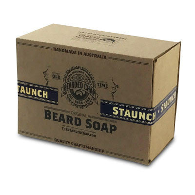 Staunch Beard Soap - The Bearded Chap Australian made grooming products