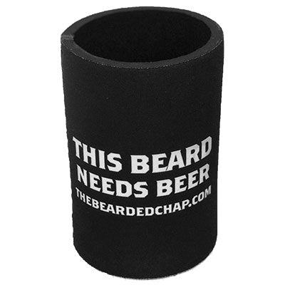 The Bearded Chap Stubby Cooler - The Bearded Chap Australian made grooming products