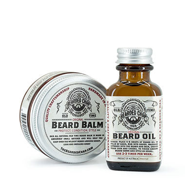 Essential Duo Beard Kit - The Bearded Chap Australian made grooming products