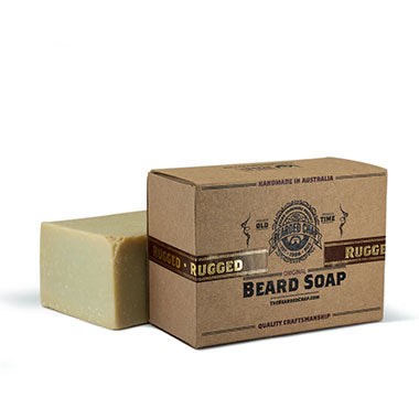 Rugged Beard Soap - The Bearded Chap Australian made grooming products