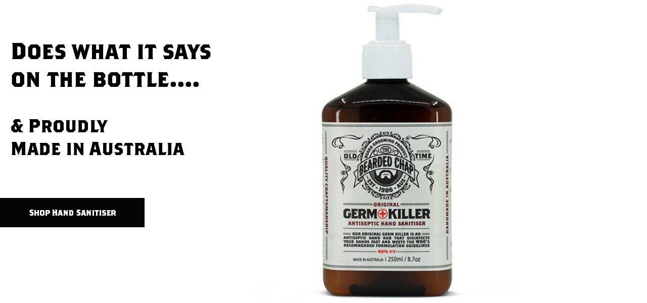 The Bearded Chap Germ Killer Hand Sanitiser
