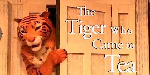 Blog Review : The Tiger Who Came To Tea