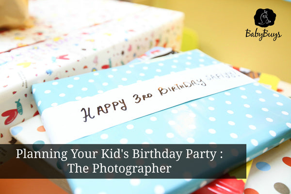 Planning Your Kid's Birthday Party : The Photographer