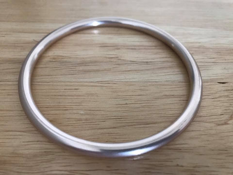 Aluminium Sling Rings - Hand Buffed Rose Gold