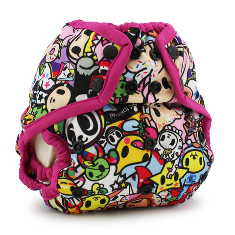 Tokidoki x Kanga Care Rumparooz Cloth Diaper Cover - TokiJoy (Sherbert trim)