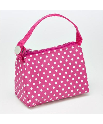 PaciPouch - Pink Polka Dot - Baby Buys