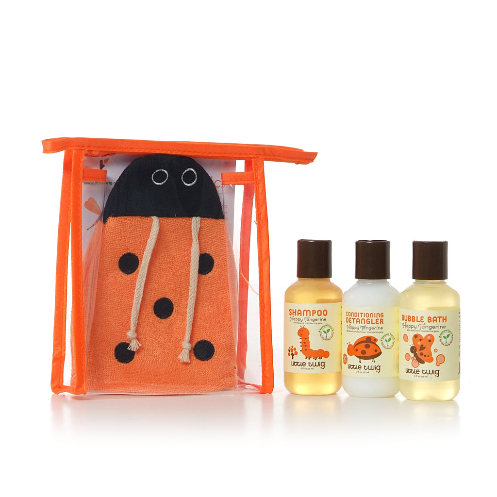 Little Twig Travel Basics Set - Tangerine