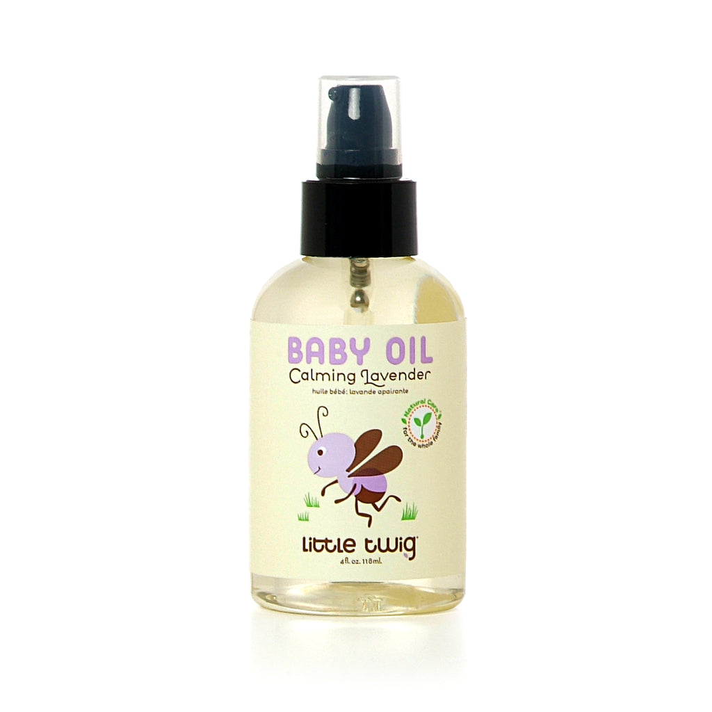 Little Twig Baby Oil - Lavender  (4 oz)