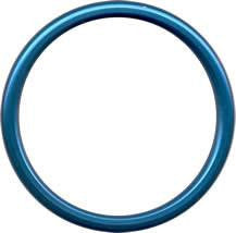 Aluminium Sling Rings - Blue (1 pair) - Baby Buys