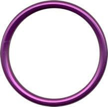 Aluminium Sling Rings - Purple (1 pair) - Baby Buys