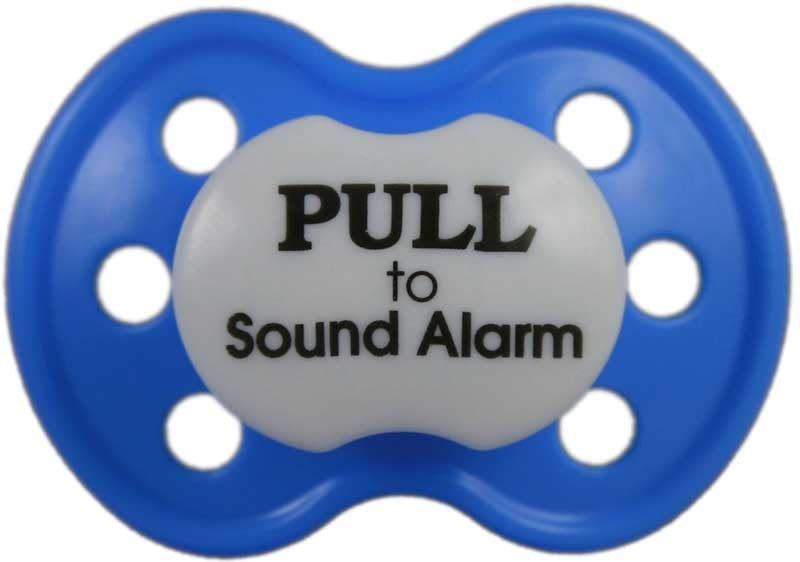PoshPaci - Pull To Sound Alarm - Baby Buys - 1