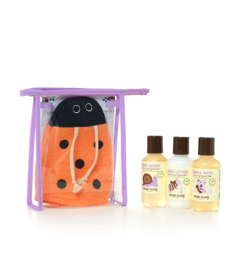 Little Twig Travel Basics Set - Lavender